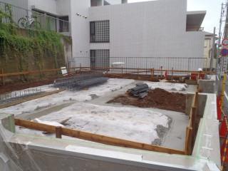 代々木アパートメント 基礎配筋検査