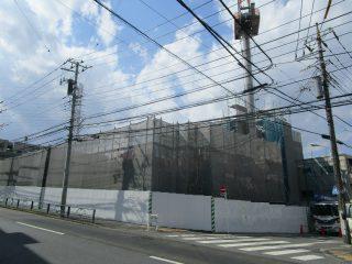 (仮称)TT-FLAT新築工事 A棟2階スラブ配筋、B棟4階のスラブ型枠