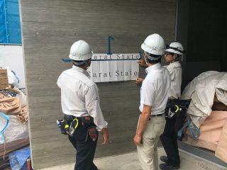 (仮称)TT-FLAT新築工事 定例&航空写真