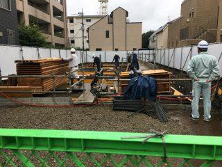 桜新町の保育園 配筋検査