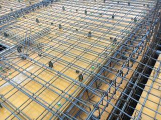 板橋の介護施設 4F床配筋検査