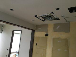 板橋の福祉施設 壁・天井クロス張り
