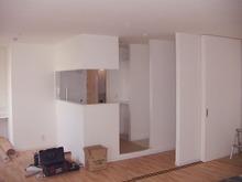 Kアパート改修工事の現場リポート クロス工事完了