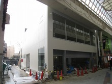 阿佐ヶ谷テナントビル工事がまもなく竣工