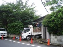 杉並 Ⅰ邸の解体工事開始。