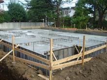 杉並 Ⅰ邸  基礎コンクリート打設