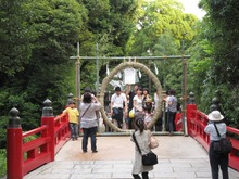 氷川神社 輪くぐり