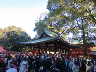 大宮氷川神社で恒例の「節分祭」にいってきました。
