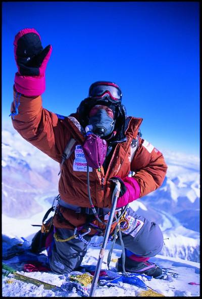 三浦雄一郎さん 最高年齢80歳にてエベレスト登頂成功!