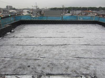 B-Office 屋上の防水工事