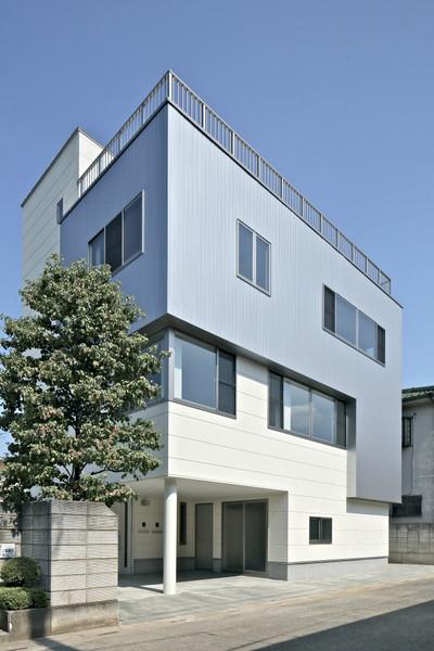 事務所併用住宅:K邸が竣工しました。