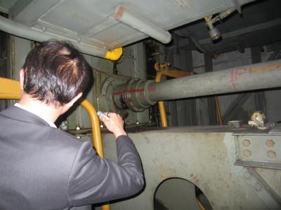 タワーパーキングの耐震補強設計の現地調査