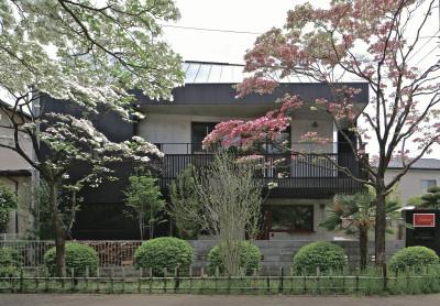 岩瀬アトリエHPの作品集に『ハナミズキ通りの家』をアップしました。