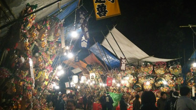 武蔵一宮 氷川神社の大湯祭(10日市)