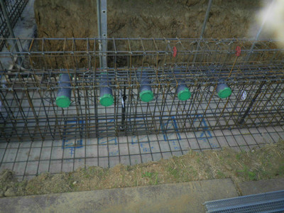 西大宮 どんぐり保育園  基礎・ベースコンクリート打設