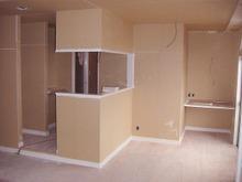 Kアパート改修工事の現場リポート 下地工事完了