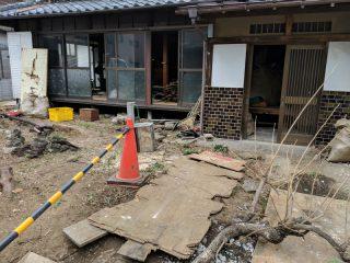 大宮 土手町の家 解体工事中