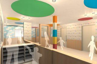 小規模保育園から認可保育園への改修設計
