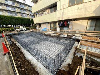 板橋区のアパート 配筋検査