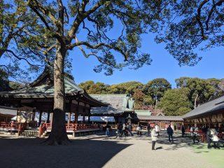 武蔵一宮 氷川神社 毎年恒例の商売繁盛祈祷
