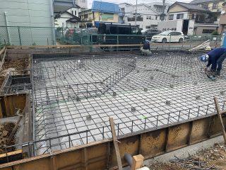 大寿司新築工事 配筋検査