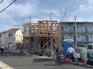 大寿司新築工事 上棟
