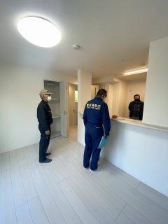 板橋区アパート 消防検査・完了検査